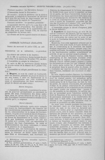 Tome 46 : Du 30 juin au 20 juillet 1792 - page 613