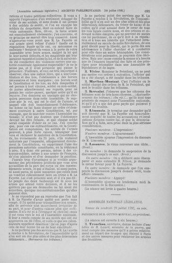 Tome 46 : Du 30 juin au 20 juillet 1792 - page 693