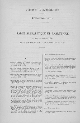 Tome 46 : Du 30 juin au 20 juillet 1792 - page ..