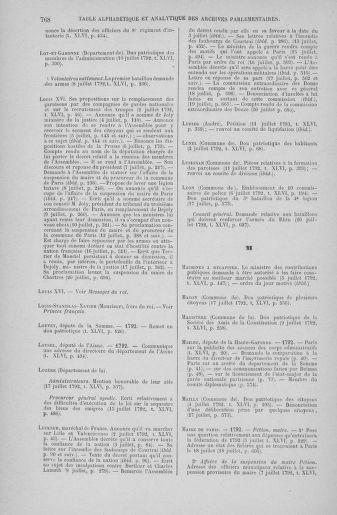 Tome 46 : Du 30 juin au 20 juillet 1792 - page 768