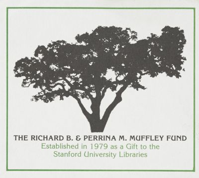 Richard B. and Perrina M. Muffley Fund