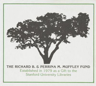 Richard B. and Perrina M. Muffley Fund