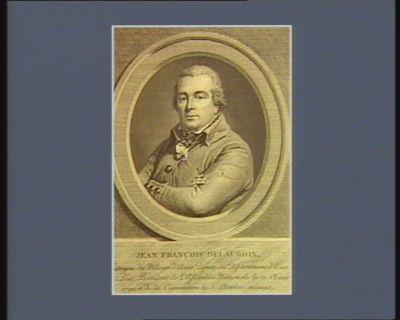 Jean François Delacroix citoyen du village d'Anet, député du departement d'Eure et Loir, président de l'Assemblée nationale le 21 aout 1792 et de la Convention le 5 octobre suivant : [estampe]