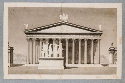 Terme Costantiniane. Tempio di Serapide