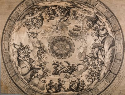 Chiesa di S. Pietro in Vaticano. Cupola minore