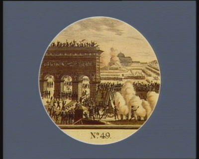 N.o 49 14 juillet 1790. Fédération g.le au <em>Champ</em> <em>de</em> <em>Mars</em>... : [estampe]