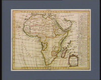 L' Afrique divisée en ses principaux etats [estampe]