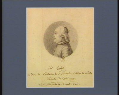 Mr Latyl prêtre de l'Oratoire & superieur du Collège de Nantes député de Bretagne né à Marseille le 15 août 1747 : [dessin]