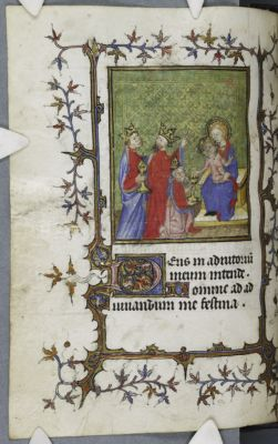 Cambridge, Corpus Christi College, MS 540: Book of Hours (Use of Rome)