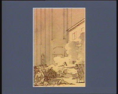 [Deuxième événement du quatorze juillet <em>1789</em>] [dessin]