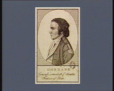 Giordano generale comandante l'armata francese al Reno : [estampe]