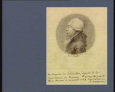 M. Meynier de Salinelles deputé de la sénéchaussée de Nismes... : [dessin]