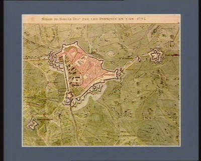 Siège de Bois-le-Duc par les Français en l'an 1794 [dessin]