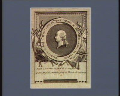 Charles-Henri c.e d'Estaing ch.er des ordres du Roi vice-amiral de France : [estampe]