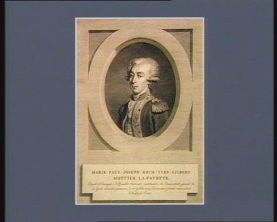 Marie-Paul-Joseph-Roch-Yves-Gilbert Mottier La Fayette député d'Auvergne à l'Assemblée nationale constituante ; élu commandant-général de la Garde nationale parisienne, le 15 juillet 1789 ; lieutenant-général commandant l'armée du Centre : [estampe]