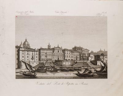 Porto di Ripetta, veduta generale di prospetto