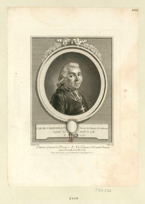 L' Ab. de Carondelet, prevôt du chapitre de Seclin en Fland député du baill. de Lille, né en 1753 : [estampe]