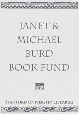 Janet & Michael Burd Book Fund