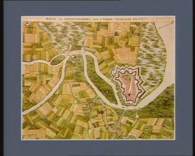 Siège de Gertruidenberg par l'armée française en 179[5] [dessin]