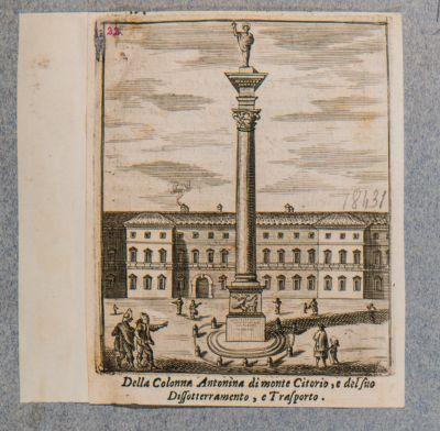 Colonna di Antonino Pio, immaginaria ricostruzione