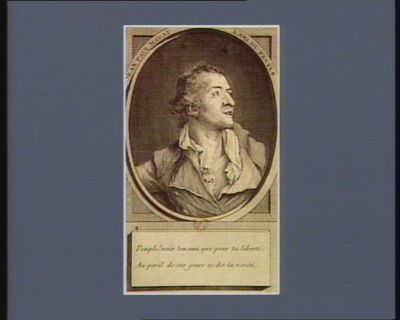 Jean Paul Marat né à Genève... : [estampe]