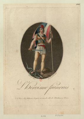 L' Héroïsme français [estampe]