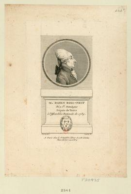 M. Payen Bois-Neuf né à St Domingue député de Tours à l'Assemblée nationale de 1789 : [estampe]