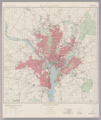 United States city plans 1:36,000. Washington and vicinity