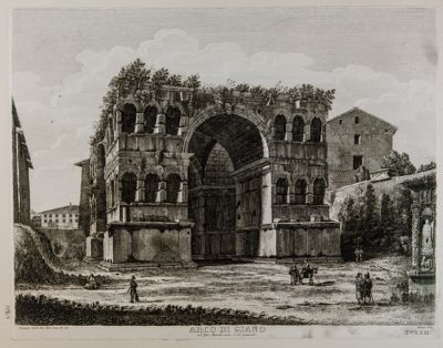 Arco di Giano, lato di levante