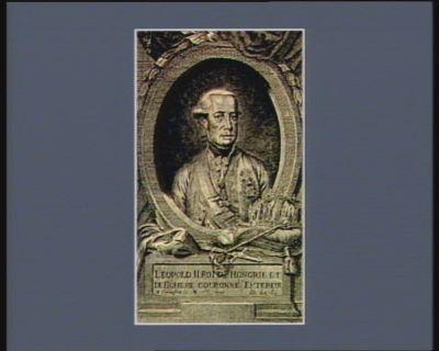 Leopold II roi d'Hongrie et de Boheme couroné Empereur a Francfort le 8 8.bre <em>1790</em> &c &c &c [estampe]