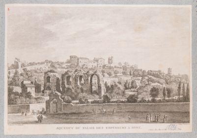 Acquedotto Claudio presso il Palatino