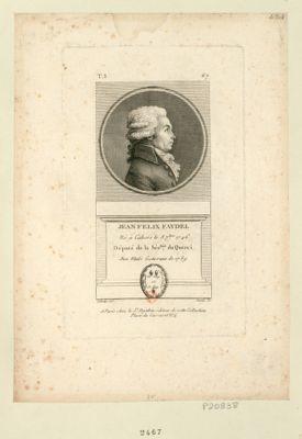 Jean Felix Faydel né à Cahors le 8 7.bre 1746 député de la sén.ssée du Querci aux Etats géneraux de 1789 : [estampe]