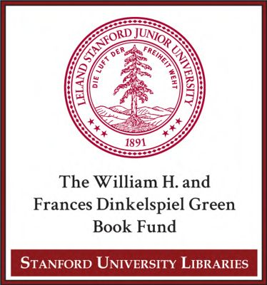 The William H. and Frances Dinkelspiel Green Book Fund