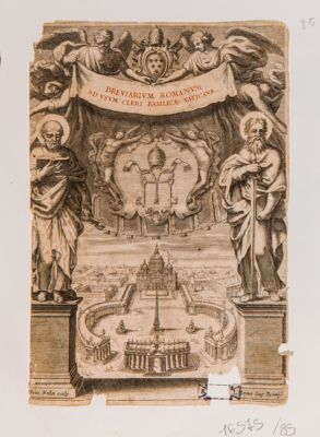 Breviarum Romanum ad usum Cleri Basilicae Vaticanae