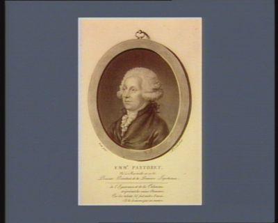 Emm.l Pastoret, né à Marseille en 1756 premier président de la première législature : [estampe]