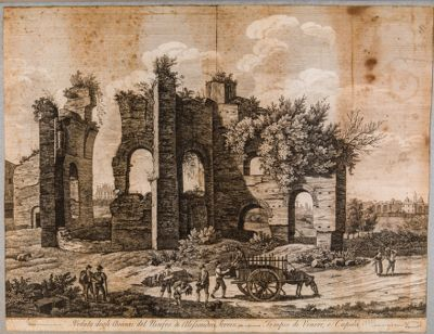 Ninfeo di Alessandro Severo detto volgarmente Tempio di Venere e Cupido
