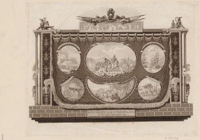 Monument voor't vaderland op het einde van't jaar 1799 [estampe]