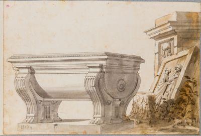 Pantheon, vasca