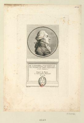 M. Lasnier de Vaussenay vice président du comité d'agriculture et de commerce. Député du Maine à l'Assemblée nationale de 1789 : [estampe]