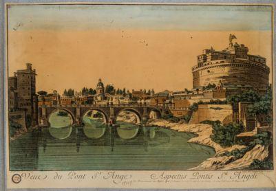 Veue du Pont S. Ange