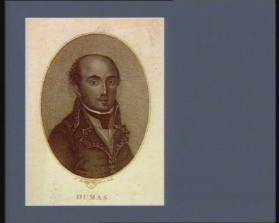 Dumas. Général des armées de la Rép. fse né à Jeremie en Amerique le 25 mars 1762 : [estampe]