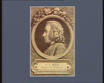 A.T. Hue marquis de Miromenil premier président du Parlement de Rouen 1773 : [estampe]