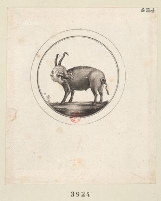 [Visage de Louis 16 sur un corps de porc] [estampe]