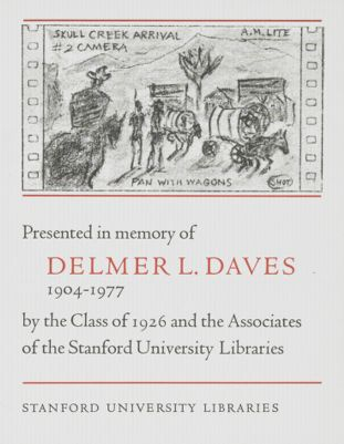 Delmer L. Daves Memorial Book Fund