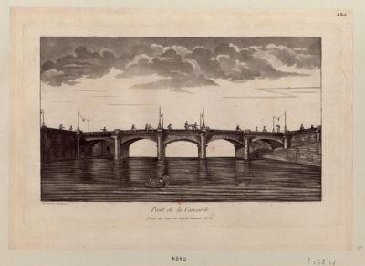 Pont de la Concorde [estampe]