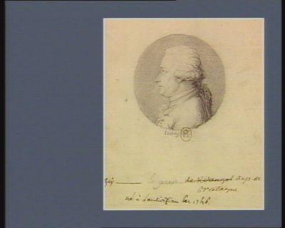 Guy Le Guen dép. de Bretagne né à Landivisiau en 1746 : [dessin]