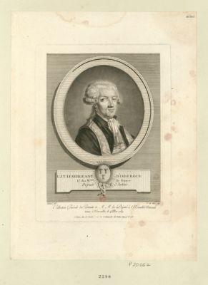 L.J.T. Le Sergeant d'Isbergue, l.t des m.aux de France député d'Artois : [estampe]