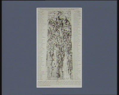 Développement général de la manière dont il conviendrait de disposer avec leurs attributs les figures allégoriques des départements qui composent le bas-relief dont est décorée la colonne qui représente la <em>France</em>... : [estampe]