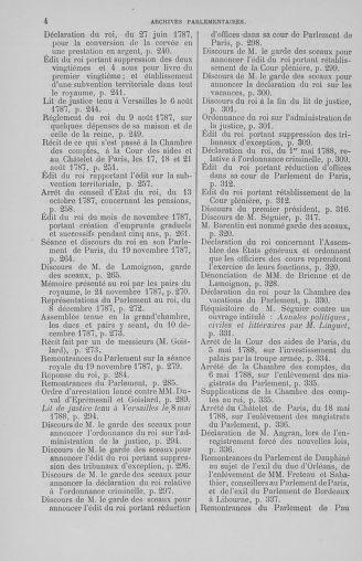 Tome 7 : Table des cahiers des états généraux - page 4