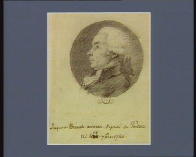 Jacques Briault avocat député du Poitou né le 28 7.bre 1740 : [dessin]